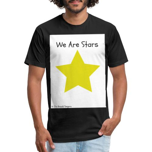 Hi I'm Ronald Seegers Collection-We Are Stars - Fitted Cotton/Poly T-Shirt by Next Level