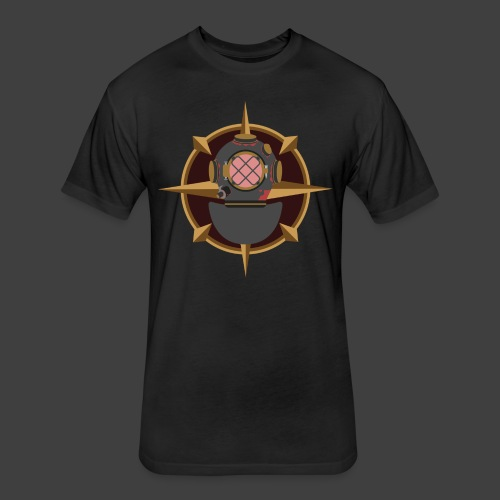 Bloody Depths - Fitted Cotton/Poly T-Shirt by Next Level
