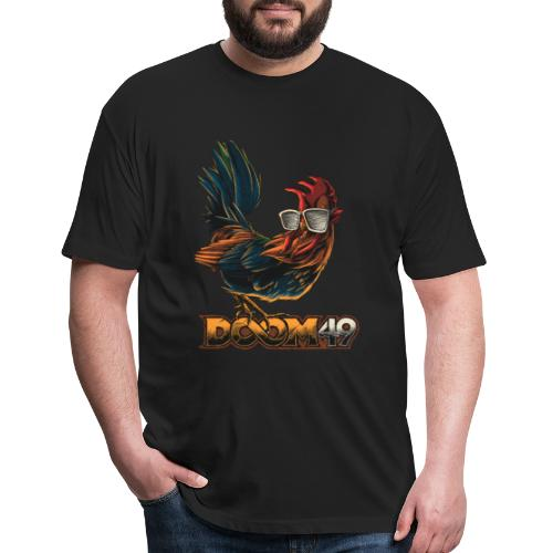 DooM49 Chicken - Fitted Cotton/Poly T-Shirt by Next Level