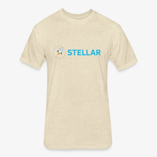 Stellar - Fitted Cotton/Poly T-Shirt by Next Level