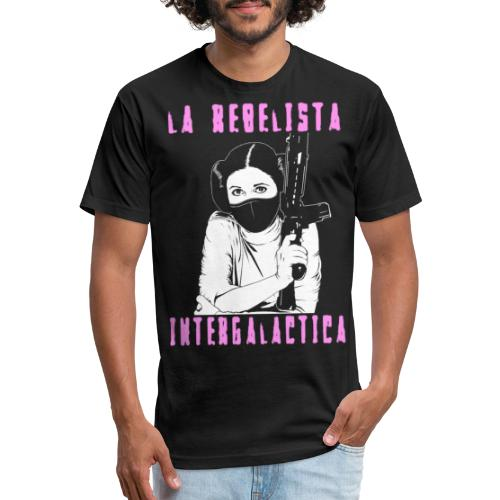 La Rebelista - Fitted Cotton/Poly T-Shirt by Next Level