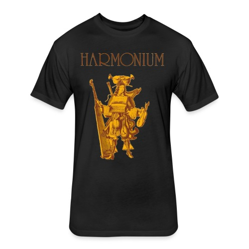 harmonium! - Fitted Cotton/Poly T-Shirt by Next Level