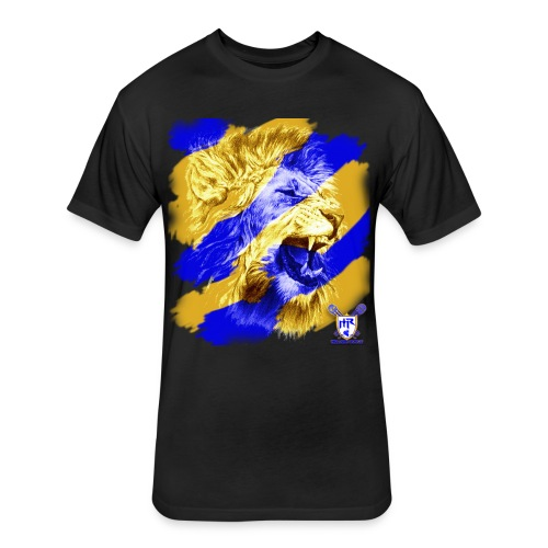classic lion t - Fitted Cotton/Poly T-Shirt by Next Level