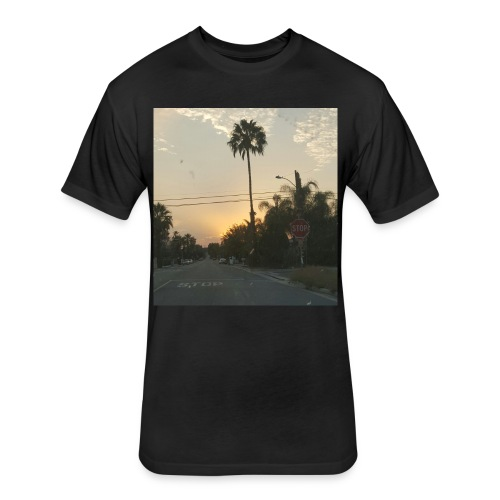 Rome Land - Fitted Cotton/Poly T-Shirt by Next Level