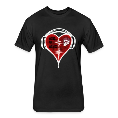 Axelofabyss Music in your heart - Fitted Cotton/Poly T-Shirt by Next Level