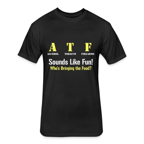ATF Shirt - Fitted Cotton/Poly T-Shirt by Next Level