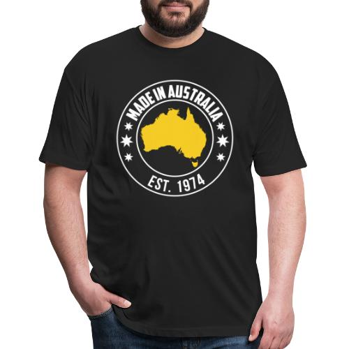 Made in AUSTRALIA Est 1974 - Fitted Cotton/Poly T-Shirt by Next Level