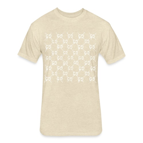 Custom dripping gucci - Fitted Cotton/Poly T-Shirt by Next Level