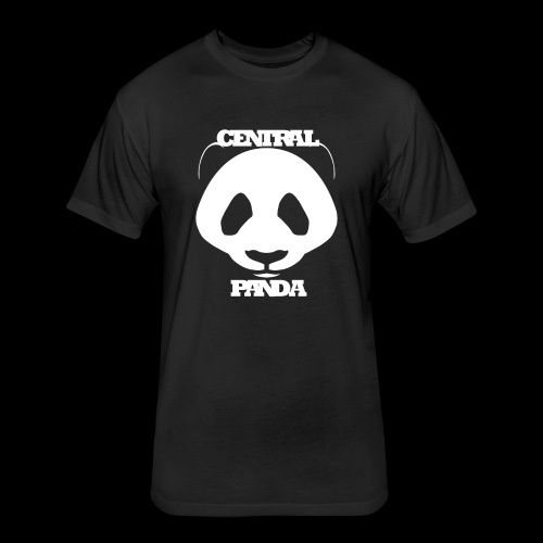 Central Panda - Fitted Cotton/Poly T-Shirt by Next Level