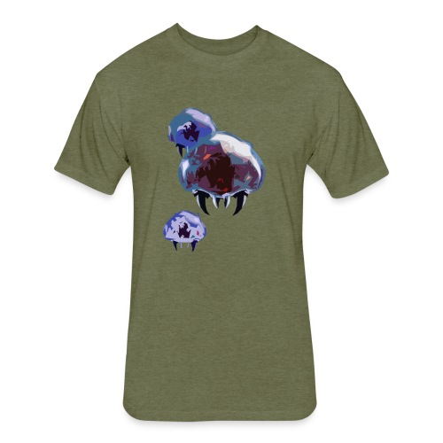 Metroid - Fitted Cotton/Poly T-Shirt by Next Level