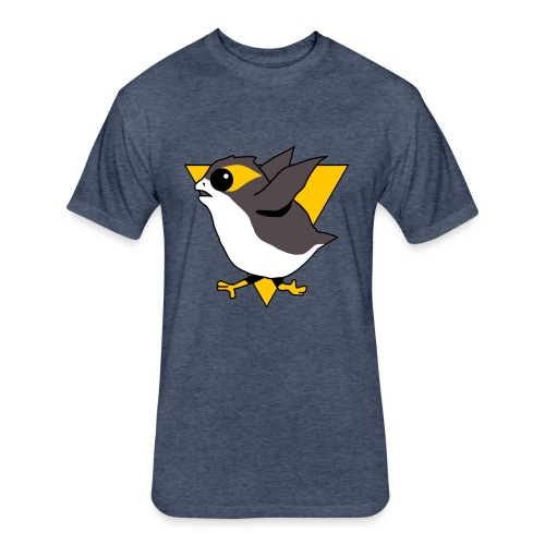 Pittsburgh Porguins - Fitted Cotton/Poly T-Shirt by Next Level