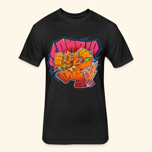 - Stomp Stomp Stomp - - Fitted Cotton/Poly T-Shirt by Next Level