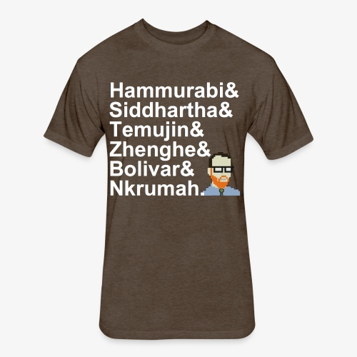 & AP World History Shirt - Fitted Cotton/Poly T-Shirt by Next Level