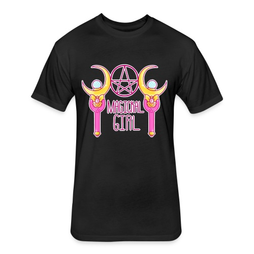 Magickal Girl - Fitted Cotton/Poly T-Shirt by Next Level