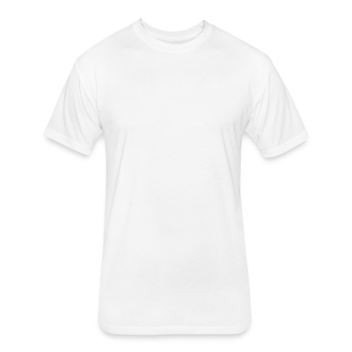 hadilogoWHITE - Fitted Cotton/Poly T-Shirt by Next Level