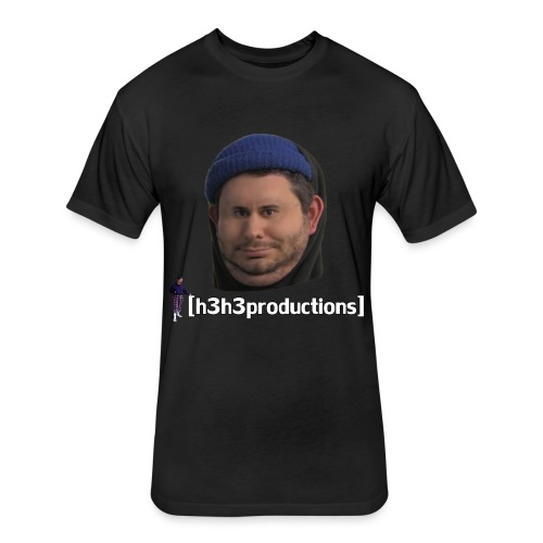 h3h3productions Ethan Klein - Fitted Cotton/Poly T-Shirt by Next Level