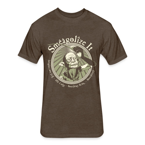 Smeagolize It! - Fitted Cotton/Poly T-Shirt by Next Level