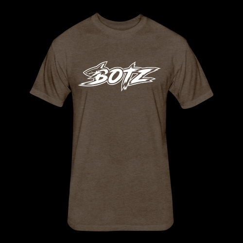 BOTZ White Logo - Fitted Cotton/Poly T-Shirt by Next Level