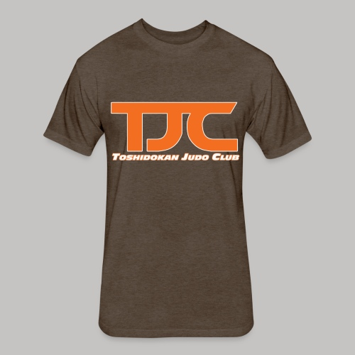 TJCorangeBASIC - Fitted Cotton/Poly T-Shirt by Next Level