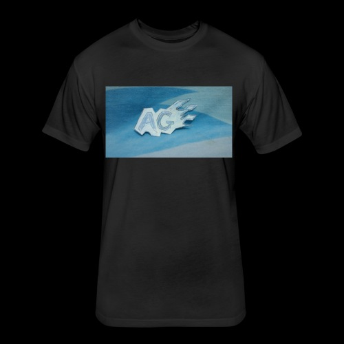 ALEX GAMING YT LOGO - Fitted Cotton/Poly T-Shirt by Next Level