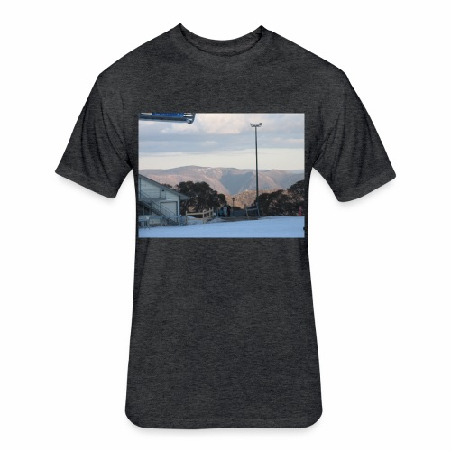 Mt Buller - Fitted Cotton/Poly T-Shirt by Next Level