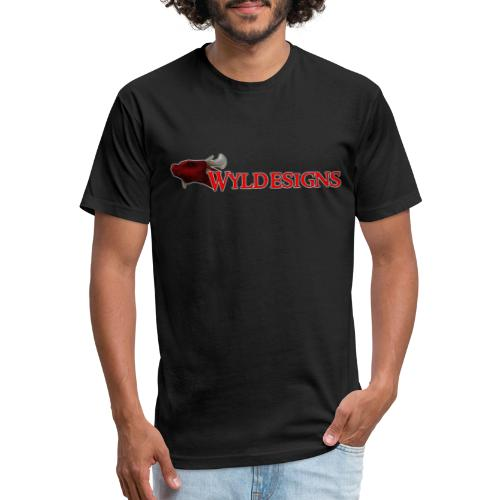 Wyldesigns Logo - Fitted Cotton/Poly T-Shirt by Next Level