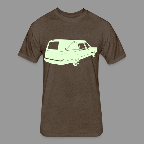 Hearse - Fitted Cotton/Poly T-Shirt by Next Level