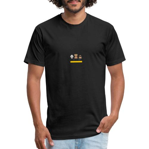 Canine Crew - Fitted Cotton/Poly T-Shirt by Next Level