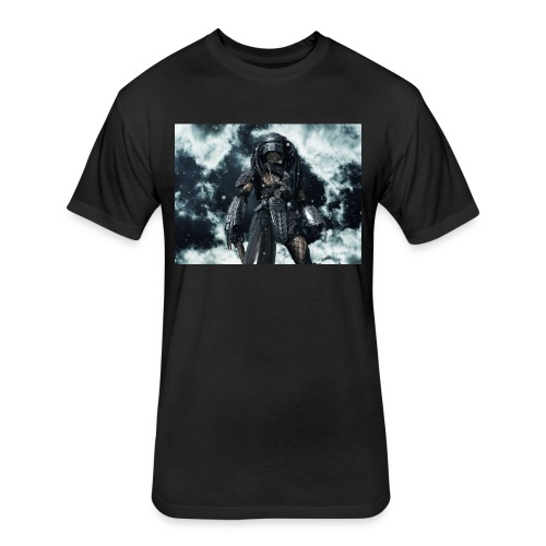 predatorfreak - Fitted Cotton/Poly T-Shirt by Next Level