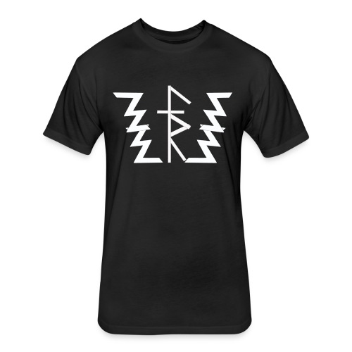 Faith Runnerz Tee Logo - Fitted Cotton/Poly T-Shirt by Next Level
