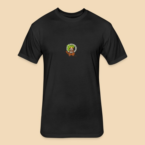 Rockhound reduce size4 - Fitted Cotton/Poly T-Shirt by Next Level