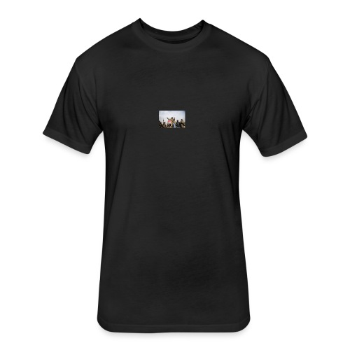 cool - Fitted Cotton/Poly T-Shirt by Next Level