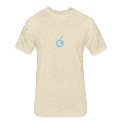 OST Logo chose print color - Fitted Cotton/Poly T-Shirt by Next Level