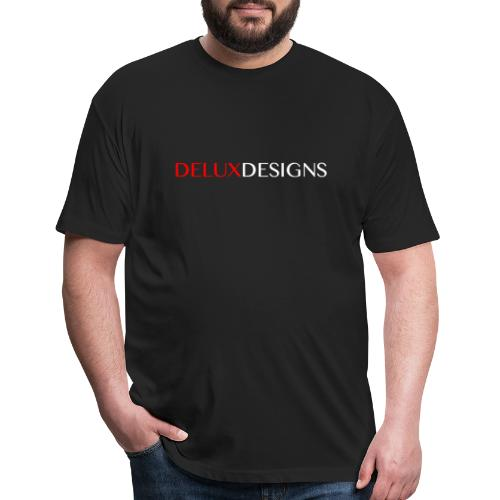 Delux Designs (white) - Fitted Cotton/Poly T-Shirt by Next Level