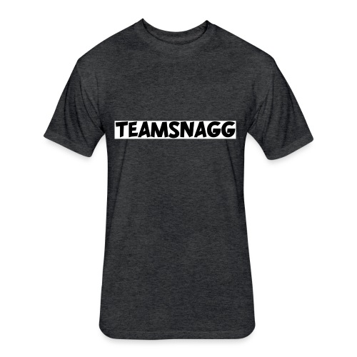TeamSnagg Logo - Fitted Cotton/Poly T-Shirt by Next Level