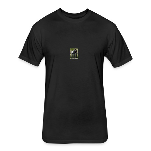 flx out louiz - Fitted Cotton/Poly T-Shirt by Next Level