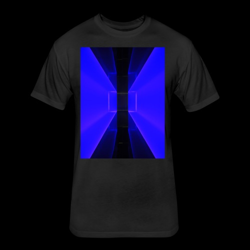 Walkway - Fitted Cotton/Poly T-Shirt by Next Level