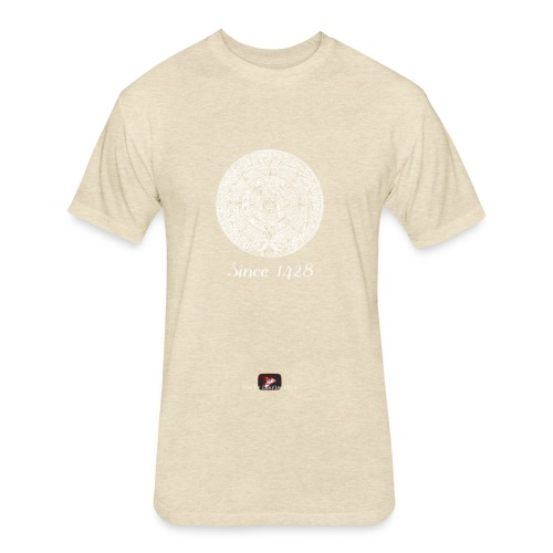 Since 1428 Aztec Design! - Fitted Cotton/Poly T-Shirt by Next Level