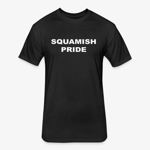 SQUAMISH PRIDE - Fitted Cotton/Poly T-Shirt by Next Level