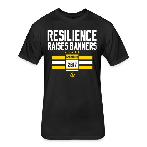 resilience - Fitted Cotton/Poly T-Shirt by Next Level