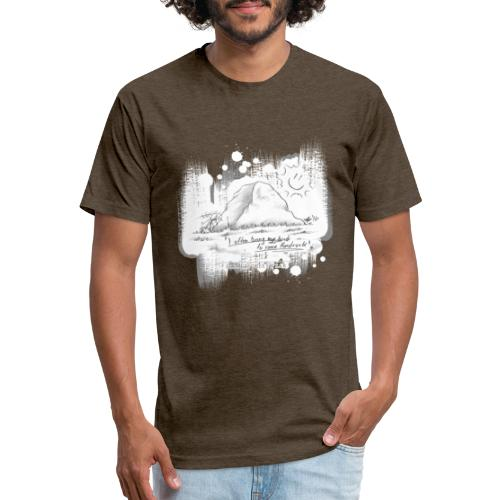 Listen to Hardrock - Fitted Cotton/Poly T-Shirt by Next Level