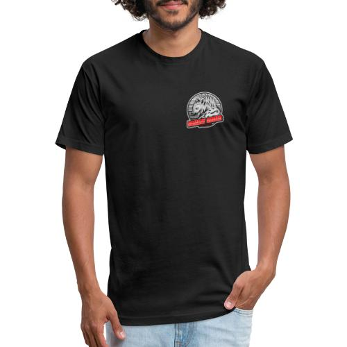 Ramsay Gamer Logo - Fitted Cotton/Poly T-Shirt by Next Level
