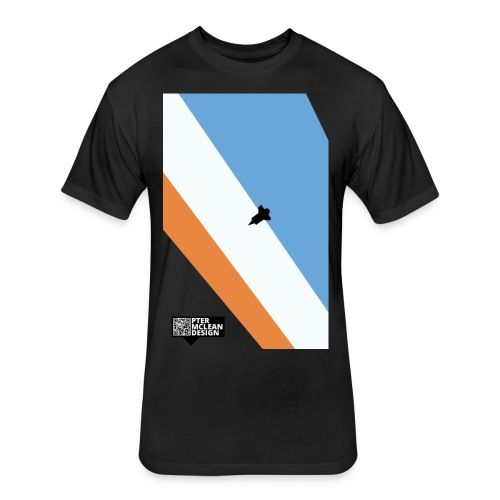 ENTER THE ATMOSPHERE - Fitted Cotton/Poly T-Shirt by Next Level