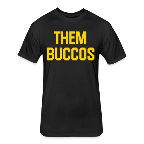 them buccos - Fitted Cotton/Poly T-Shirt by Next Level
