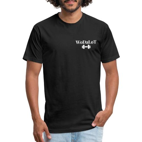 WoDaLoT white logo - Fitted Cotton/Poly T-Shirt by Next Level