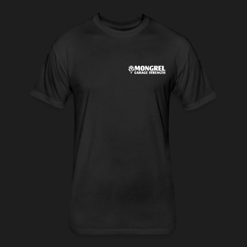 image1 PNG - Fitted Cotton/Poly T-Shirt by Next Level