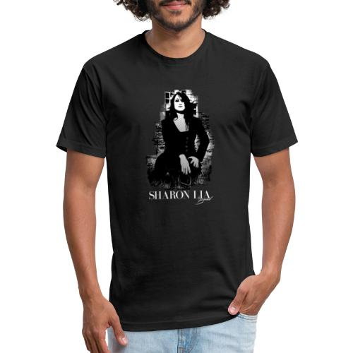 Sharon Lia Pose - Fitted Cotton/Poly T-Shirt by Next Level
