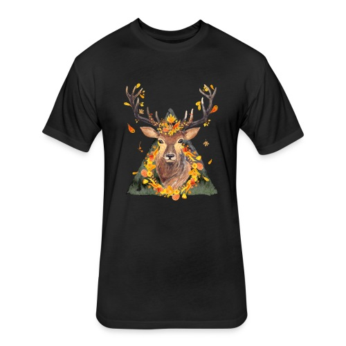 The Spirit of the Forest - Fitted Cotton/Poly T-Shirt by Next Level