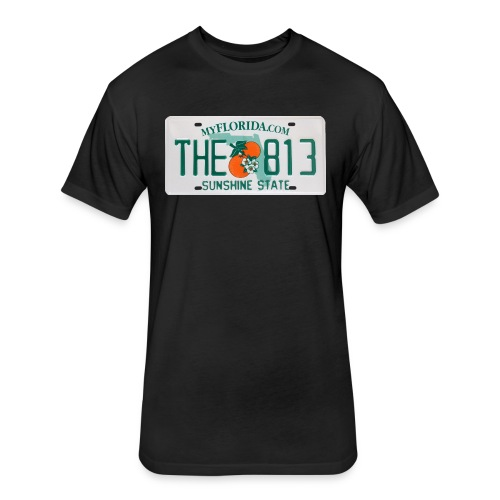 The 813 Plated - Fitted Cotton/Poly T-Shirt by Next Level
