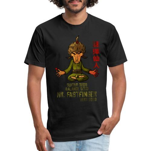 Mr Fastfinger very good - Fitted Cotton/Poly T-Shirt by Next Level